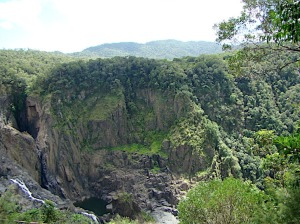 Barron Falls in far north Queensland